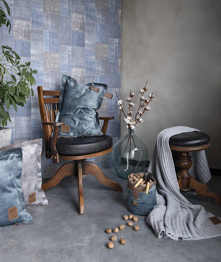 13613 knit factory dax kussen 60x40 2