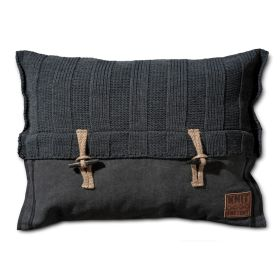 6x6 Rib Cushion Anthracite - 60x40