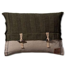 6x6 Rib Cushion Green - 60x40