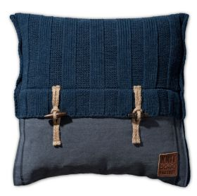 6x6 Rib Kissen Jeans - 50x50