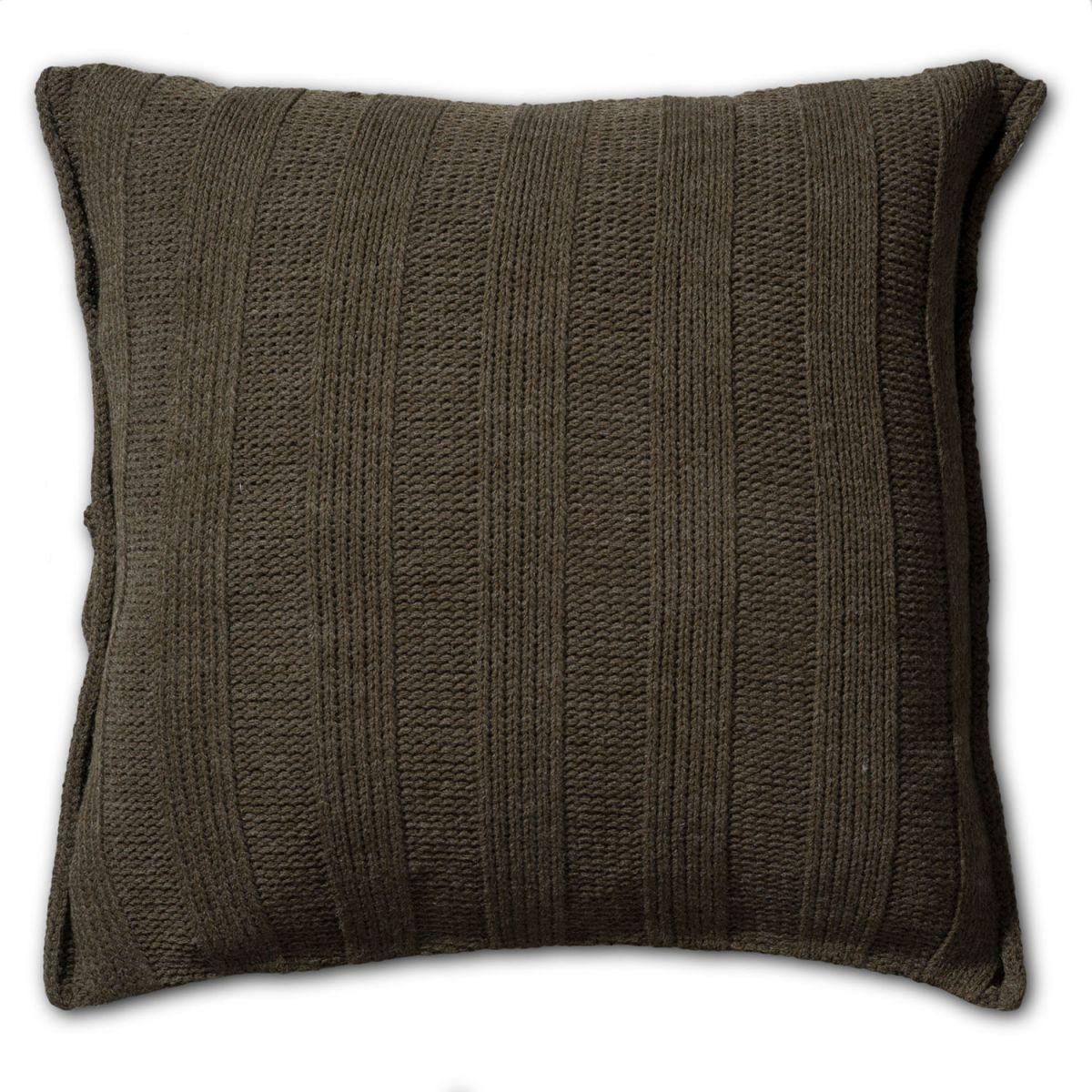 knit factory 1121214 kussen 50x50 6x6 rib groen 2