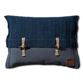 6x6 Rib Kussen Jeans - 60x40