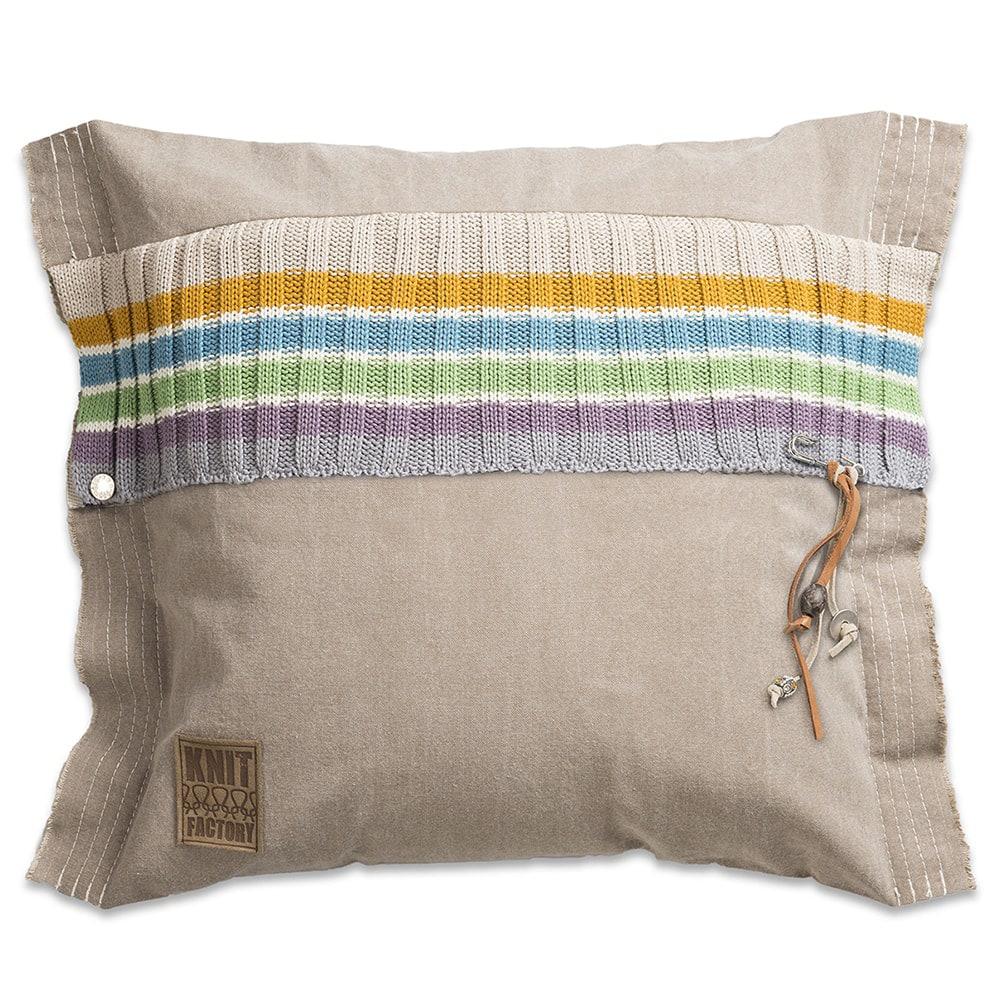 knit factory 1041299 kussen 50x50 julia multicolor 1