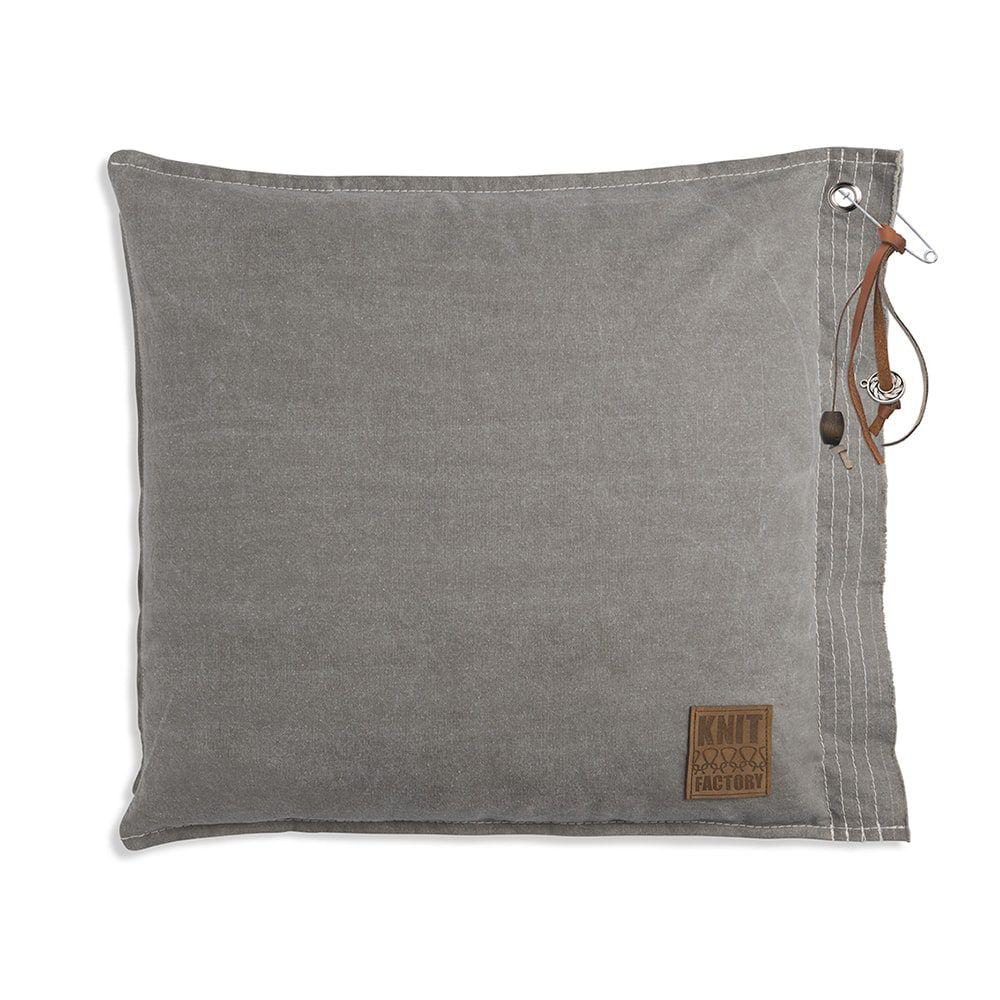 knit factory 1061209 mara kussen50x50 stone green 1