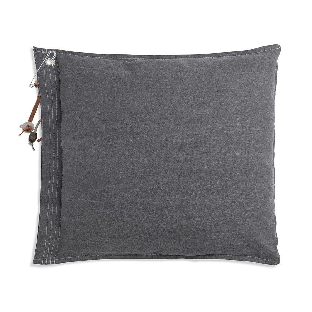 knit factory 1061211 mara kussen50x50 licht grijs 2