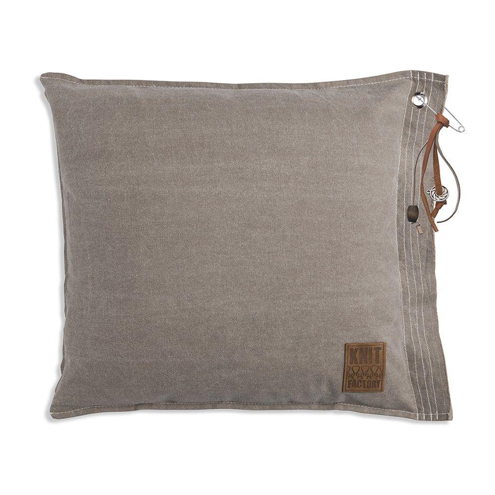 knit factory 1061212 mara kussen50x50 beige 1
