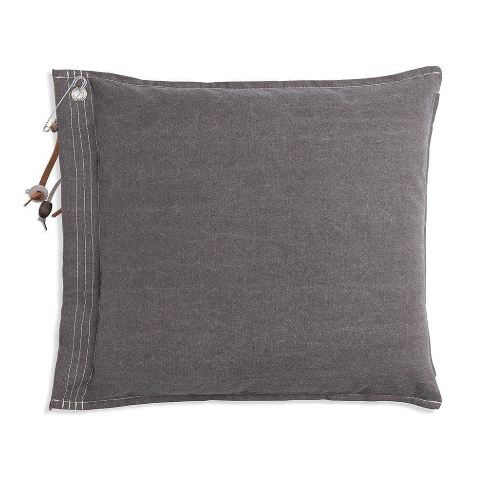 knit factory 1061229 mara kussen50x50 taupe 2