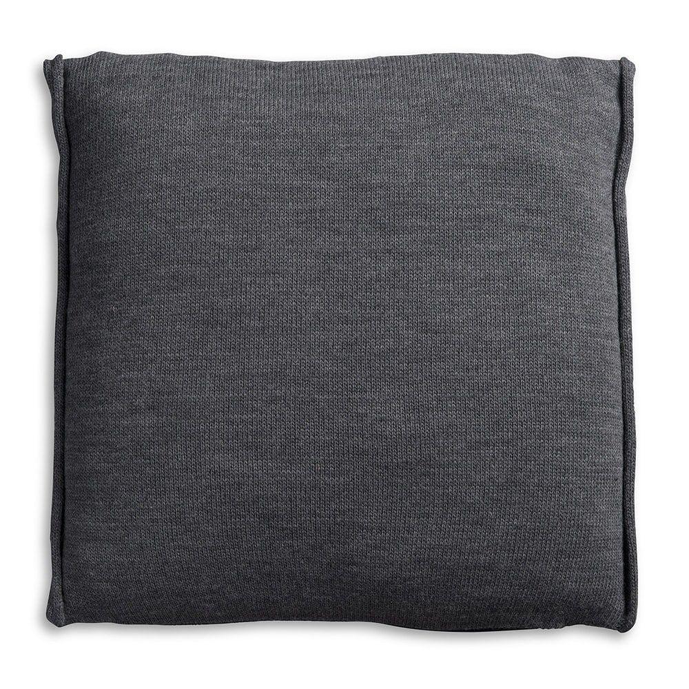 knit factory 1071210 kussen 50x50 noa antraciet 2