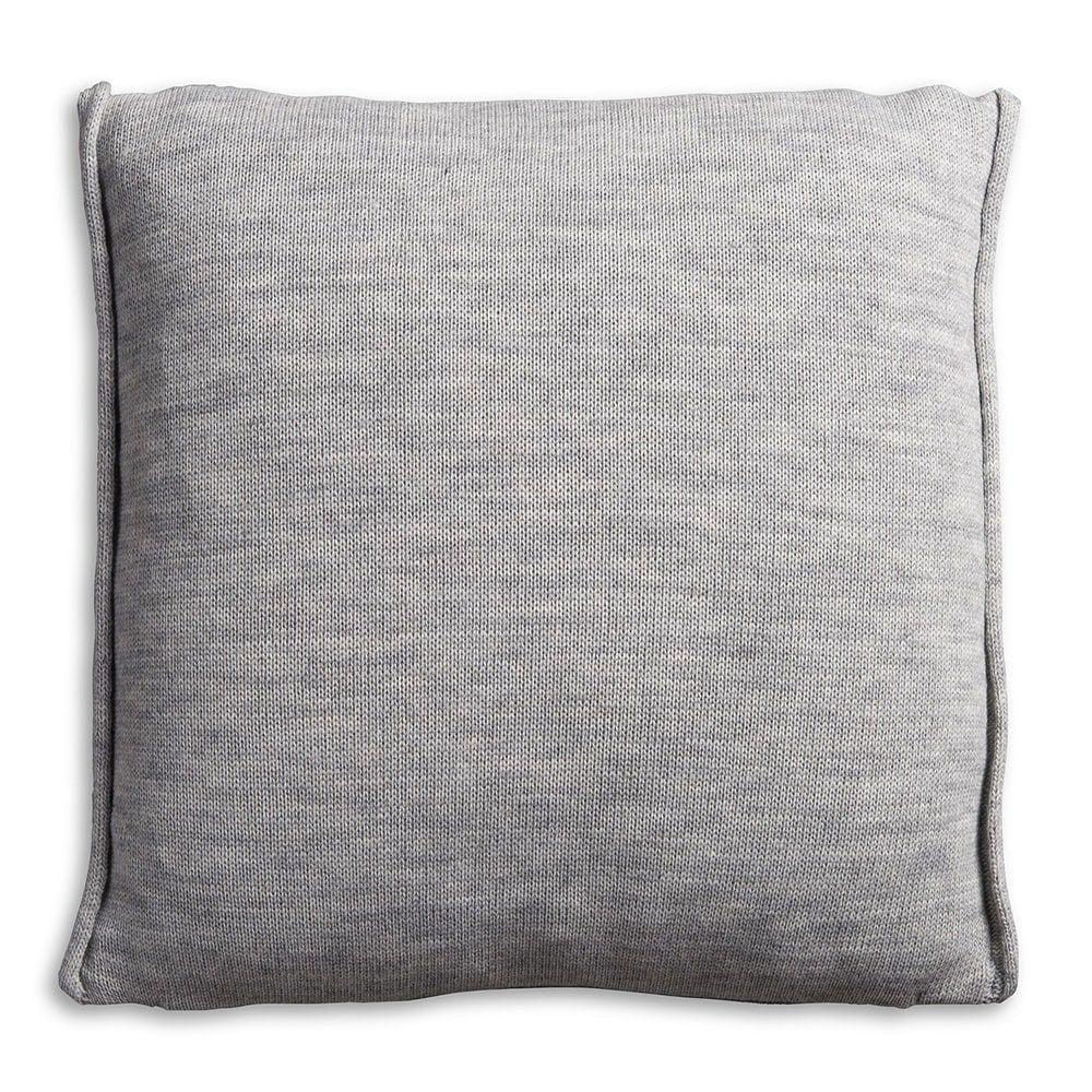 knit factory 1071211 kussen 50x50 noa licht grijs 2