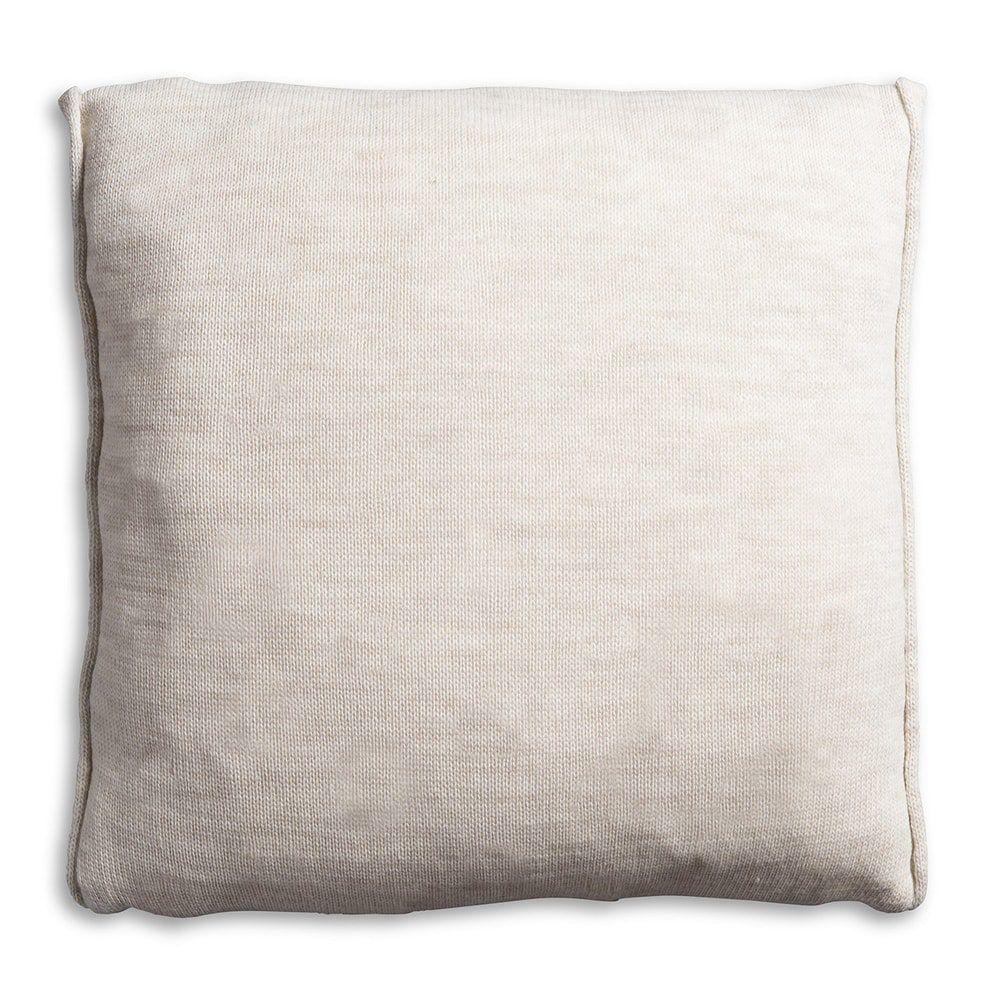 knit factory 1071212 kussen 50x50 noa beige 2