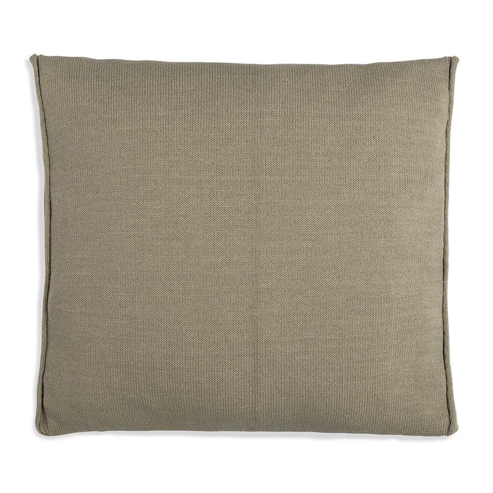 knit factory 1071233 kussen 50x50 noa olive 2