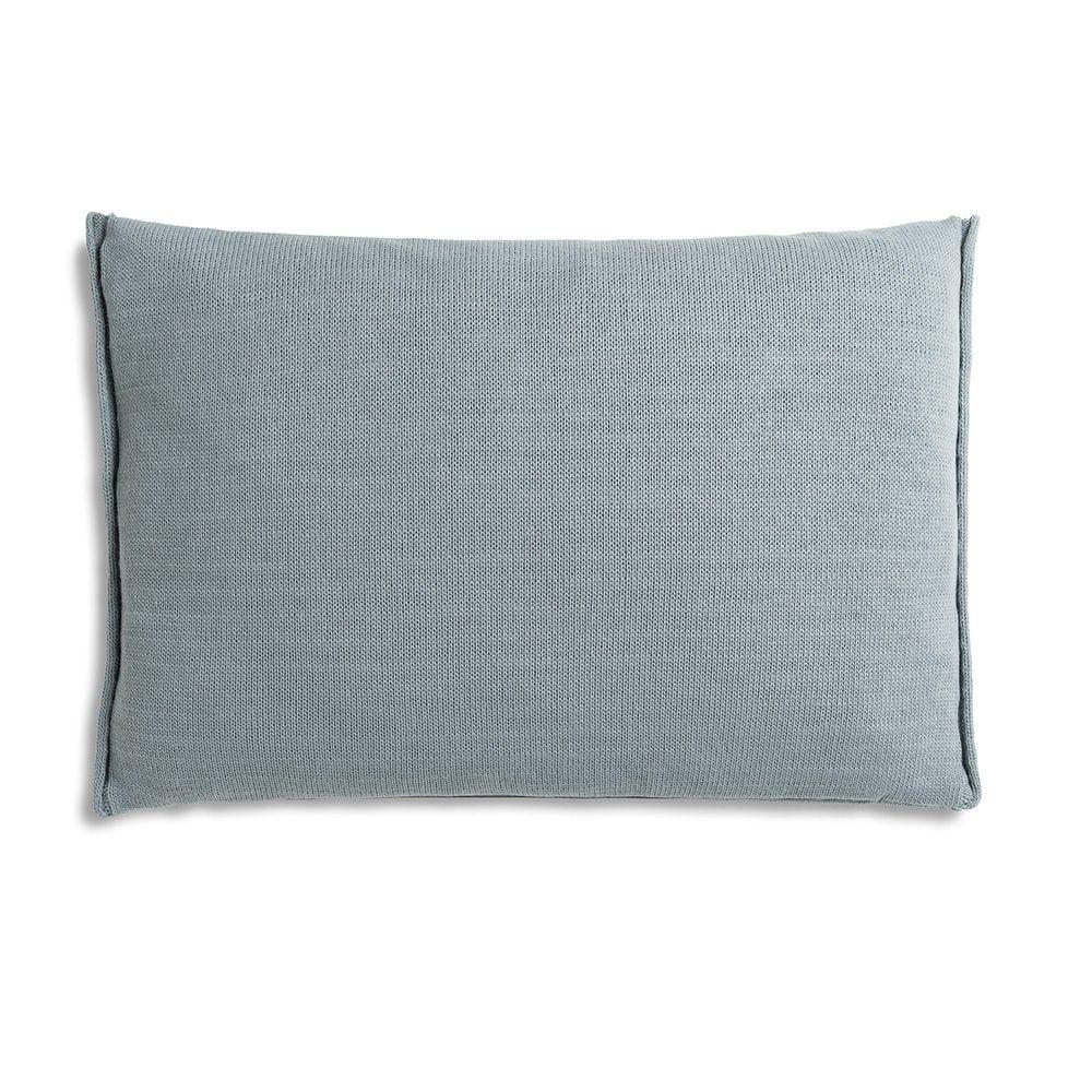 knit factory 1071309 kussen 60x40 noa stone green 2
