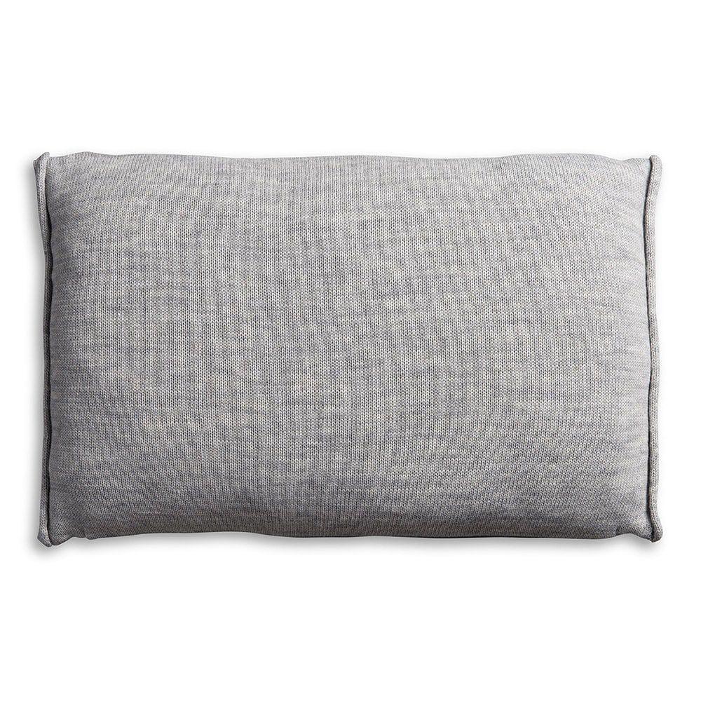 knit factory 1071311 kussen 60x40 noa licht grijs 2