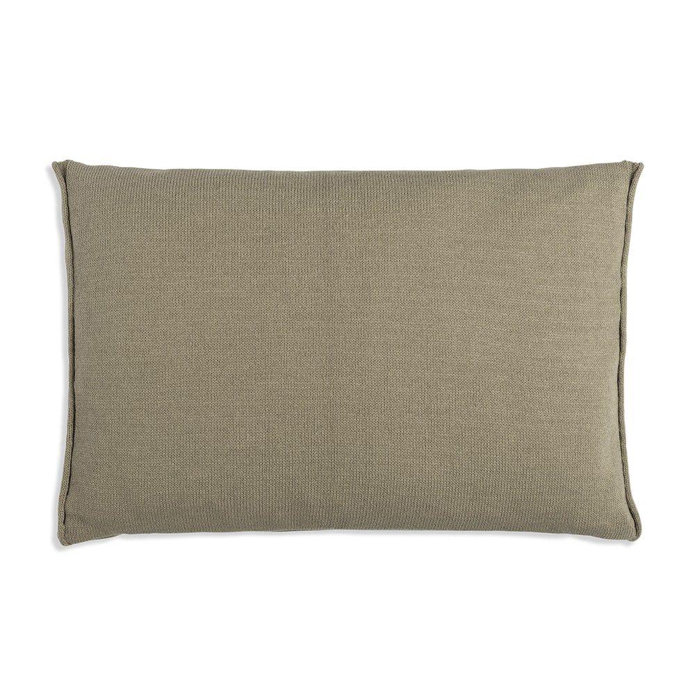 knit factory 1071333 kussen 60x40 noa olive 2
