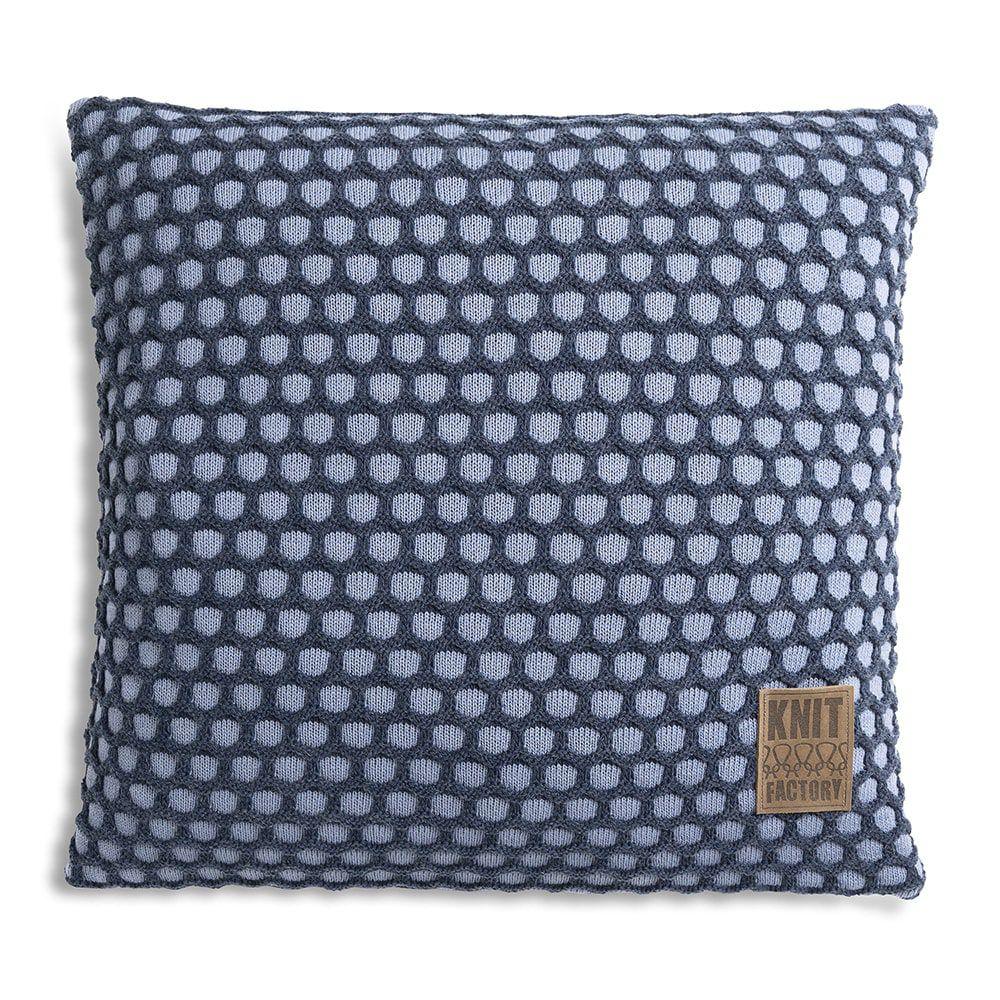 knit factory 1081255 kussen 50x50 mila indigo jeans 1