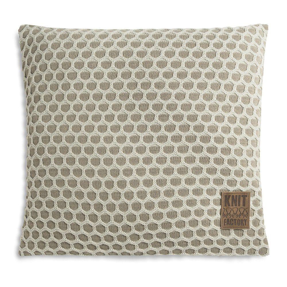 knit factory 1081256 kussen 50x50 mila olive seda 1