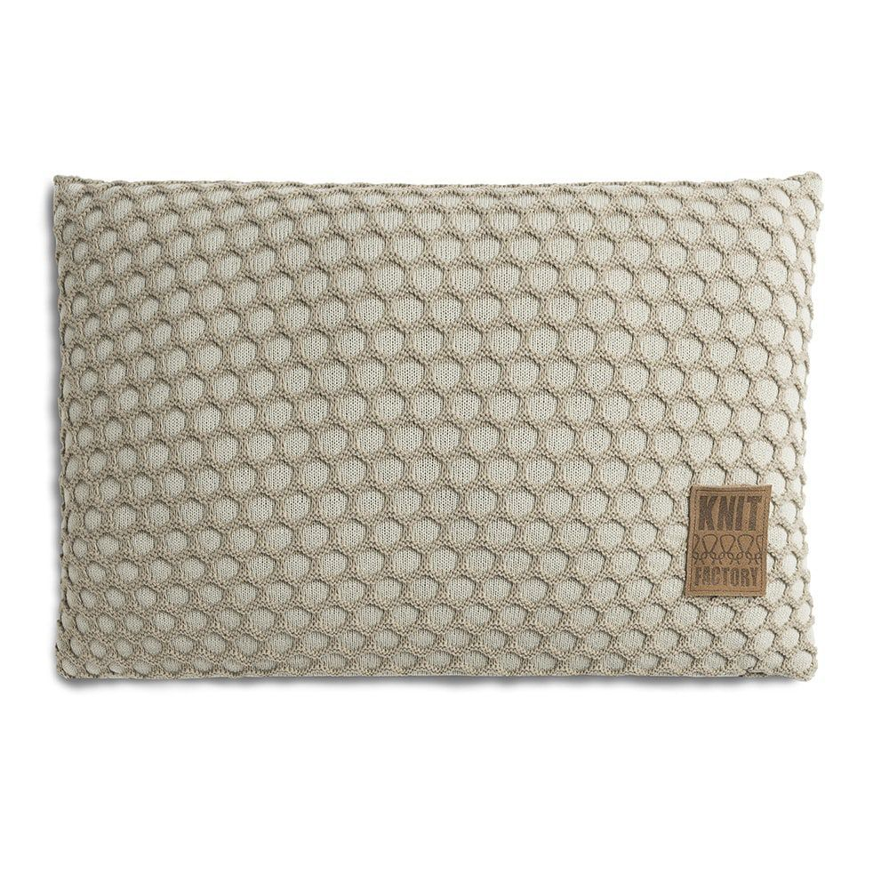 knit factory 1081357 kussen 60x40 mila seda olive 1