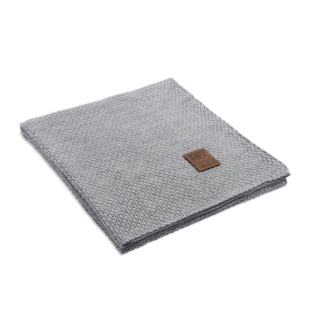 knit factory 1091111 plaid jesse licht grijs