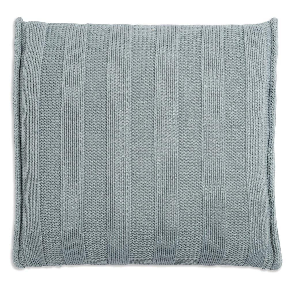 knit factory 1091209 kussen 50x50 jesse stone green2