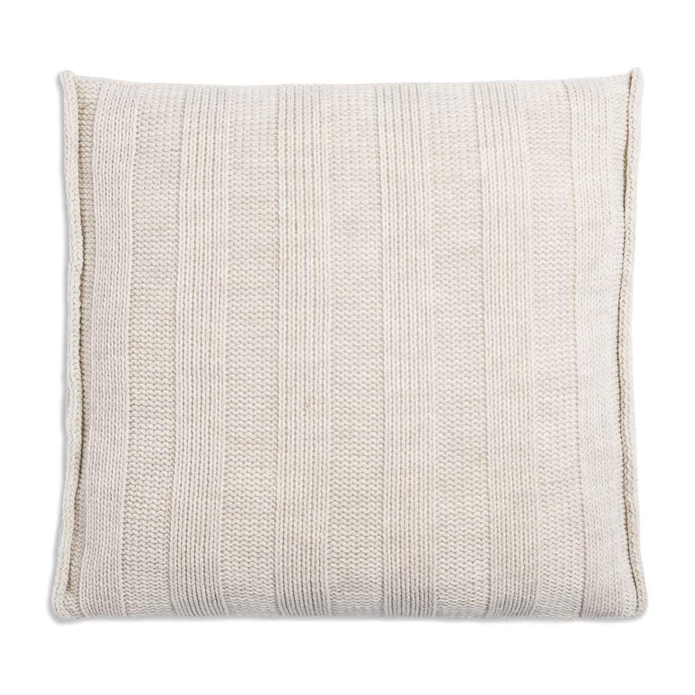 knit factory 1091212 kussen 50x50 jesse beige2
