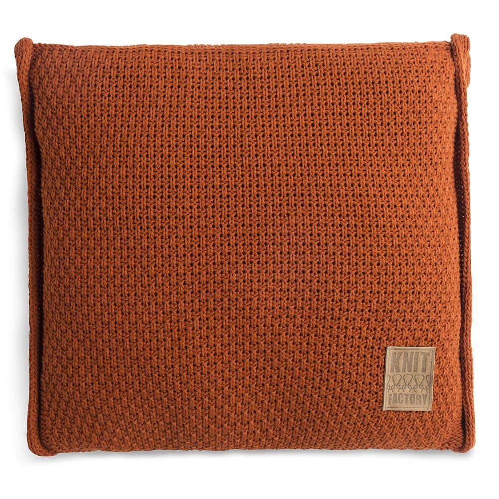 knit factory 1091216 kussen 50x50 jesse terra1