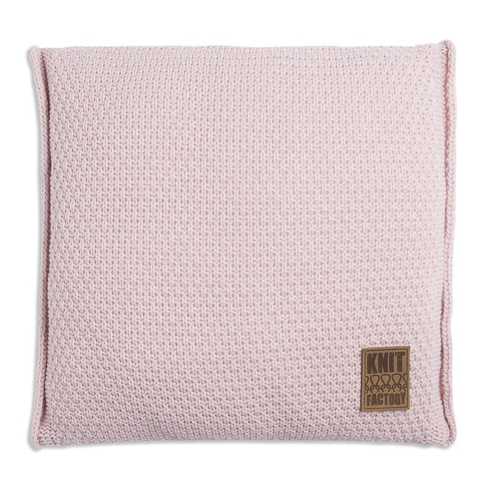 knit factory 1091221 kussen 50x50 jesse roze1
