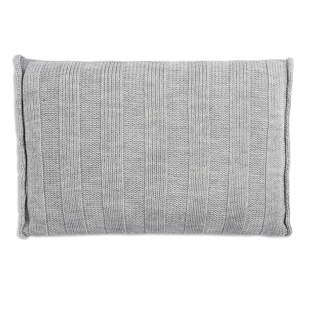 knit factory 1091311 kussen 60x40 jesse licht grijs 2
