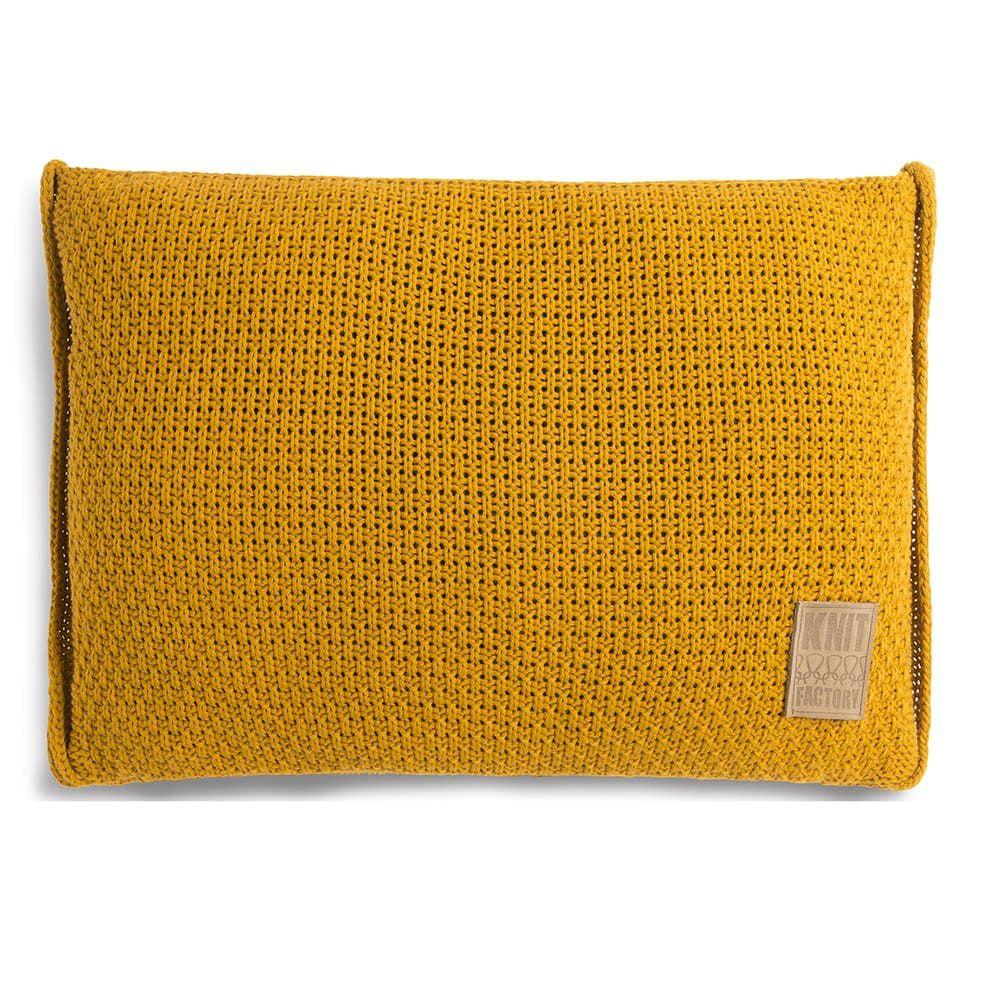 knit factory 1091317 kussen 60x40 jesse oker 1