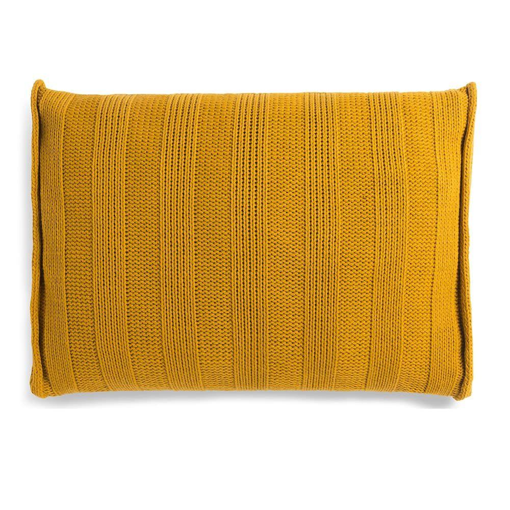 knit factory 1091317 kussen 60x40 jesse oker 2