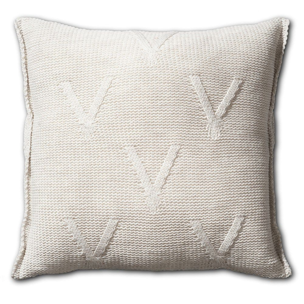 knit factory 1101212 kussen 50x50 aran beige 2