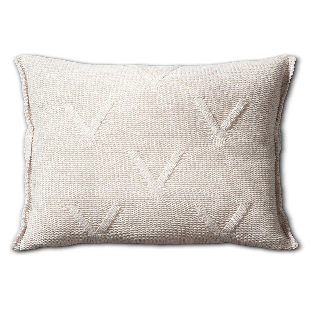 knit factory 1101312 kussen 60x40 aran beige 2