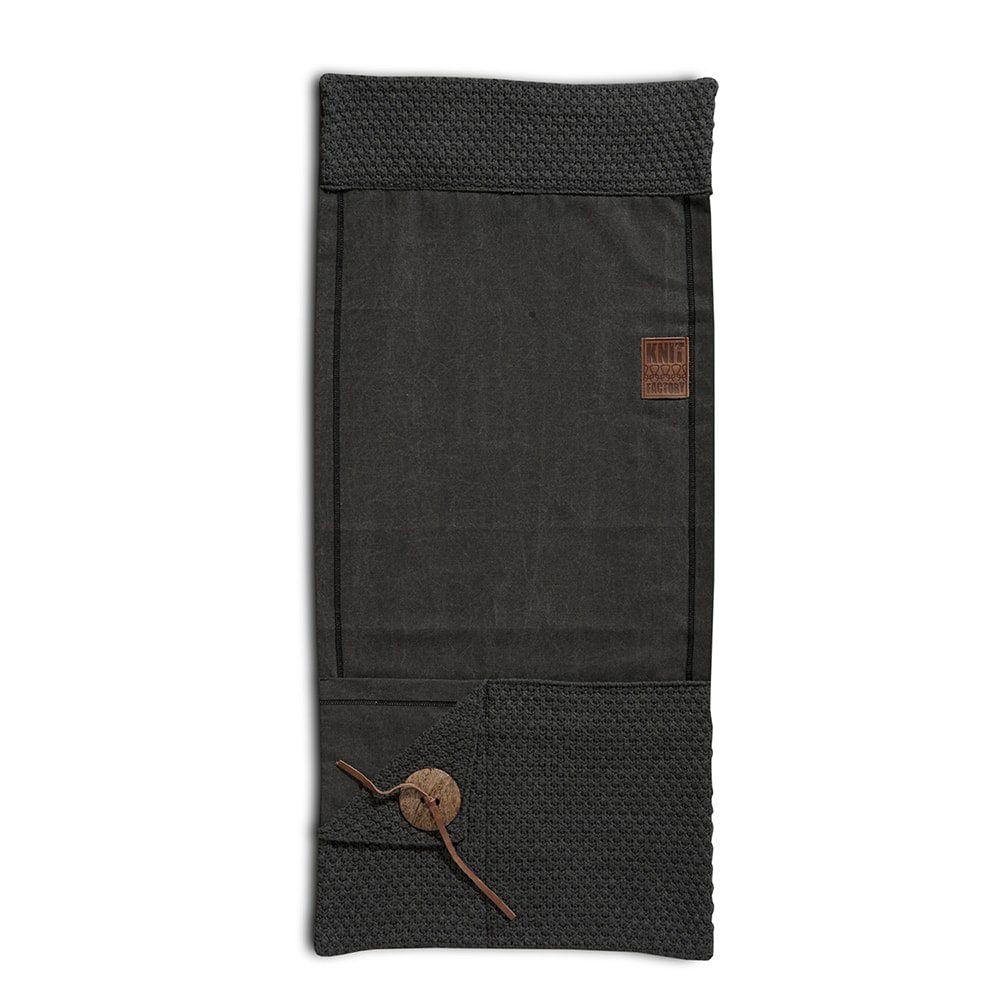 knit factory 1111010 pocket barley antarciet