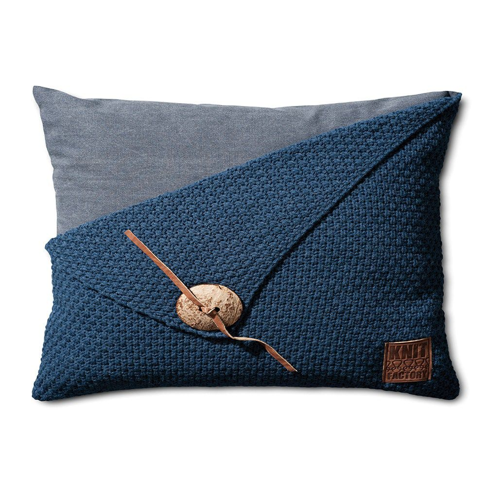 knit factory 1111313 kussen 60x40 barley jeans