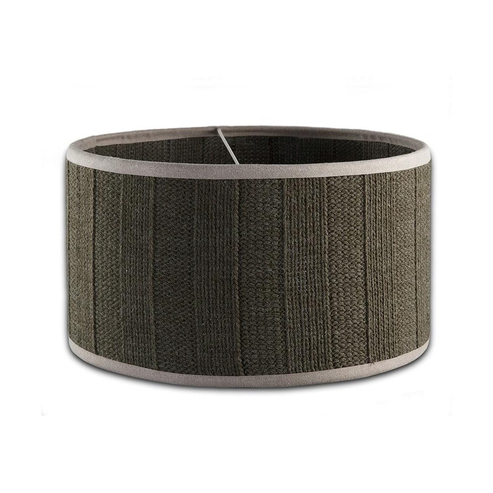 knit factory 1121614 lampkap 35 6x6 rib groen