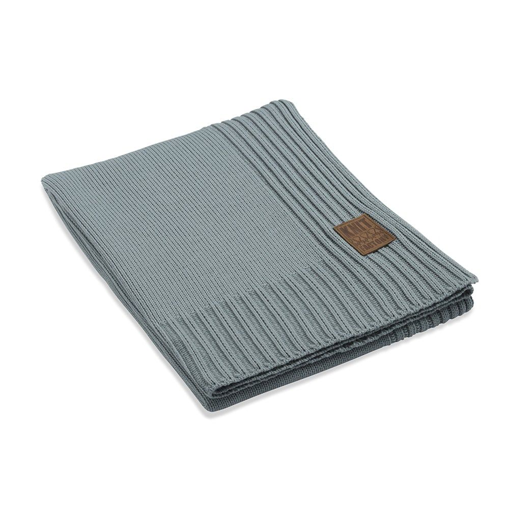 knit factory 1131109 plaid uni stone green
