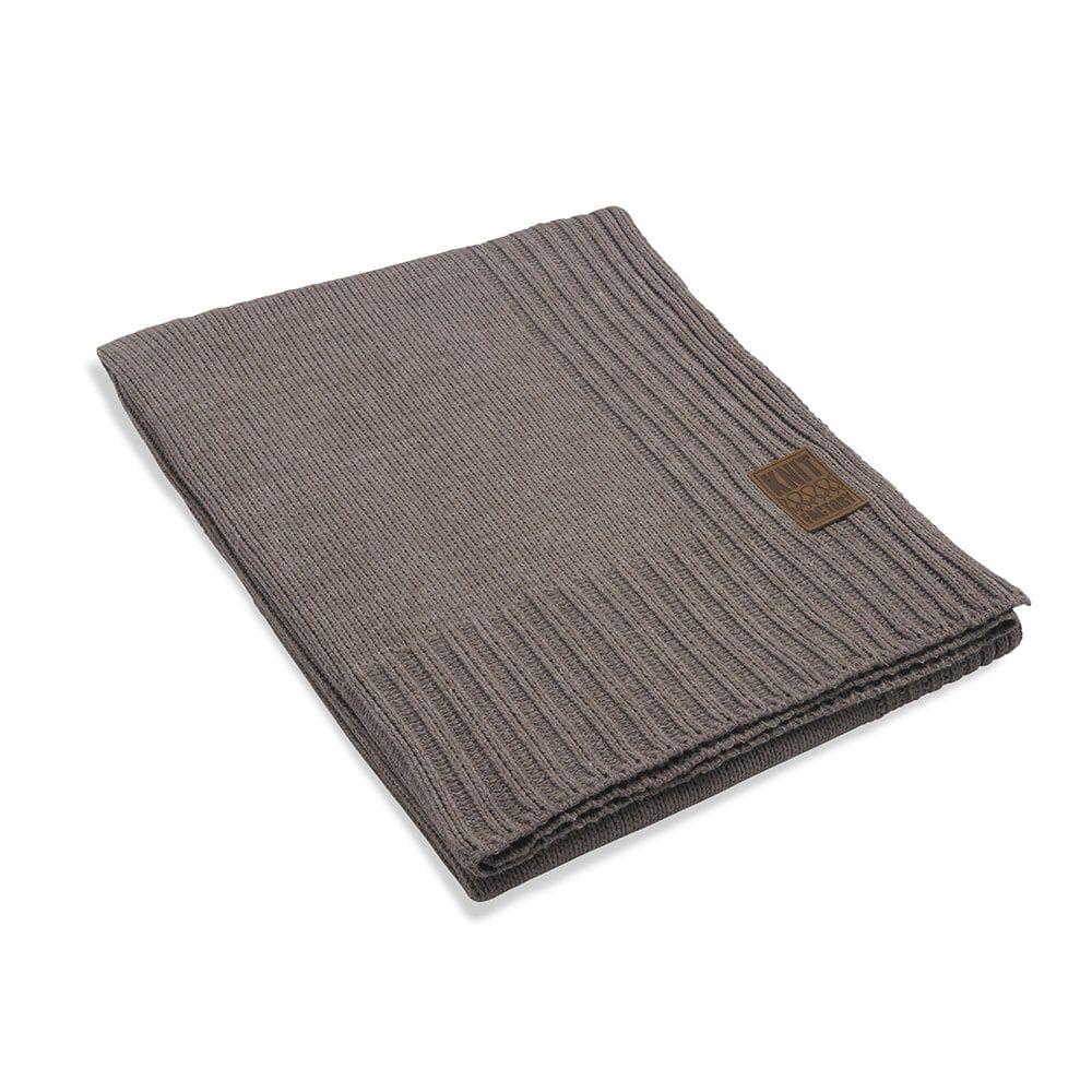 knit factory 1131129 plaid uni taupe