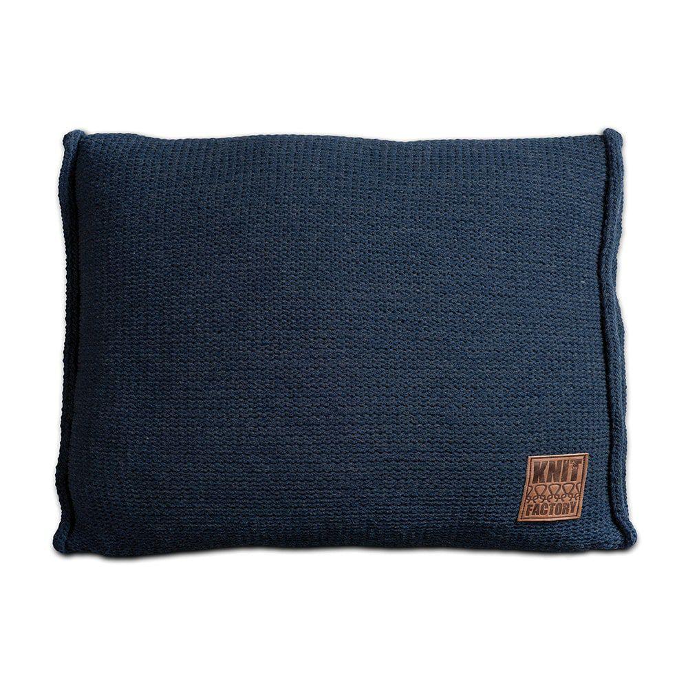 knit factory 1131313 kussen 60x40 uni jeans 1