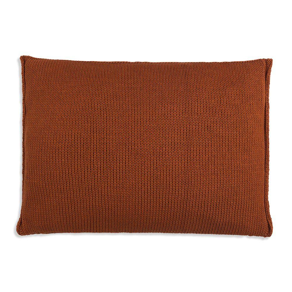 knit factory 1131316 kussen 60x40 uni terra 2