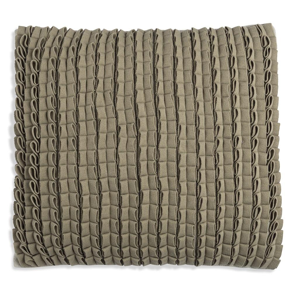knit factory 1151256 kussen 50x50 sara olive seda 1