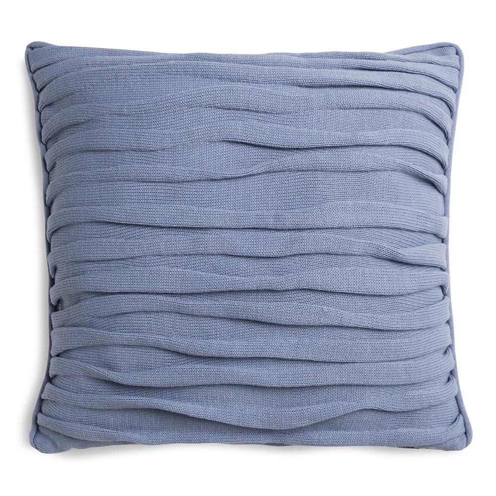 knit factory 1171232 kussen 50x50 finn indigo 1