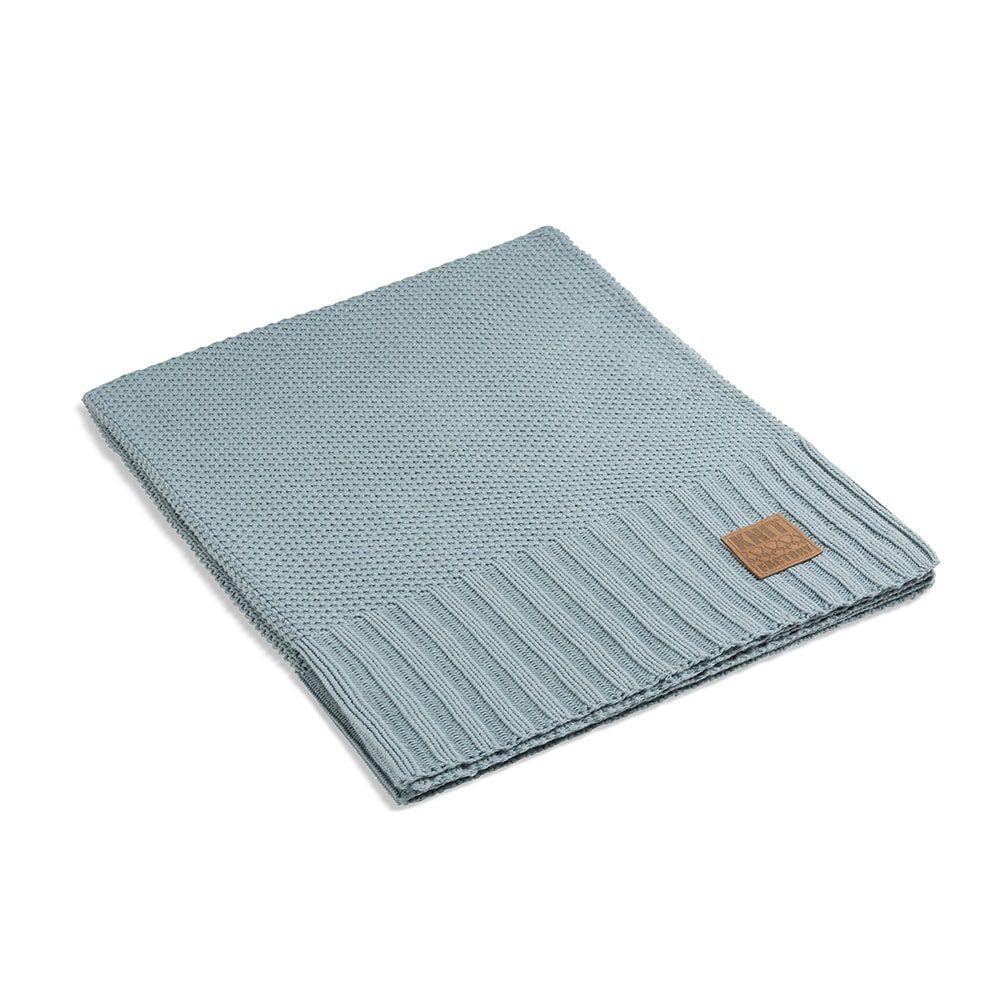 knit factory 1181109 plaid lynn stone green