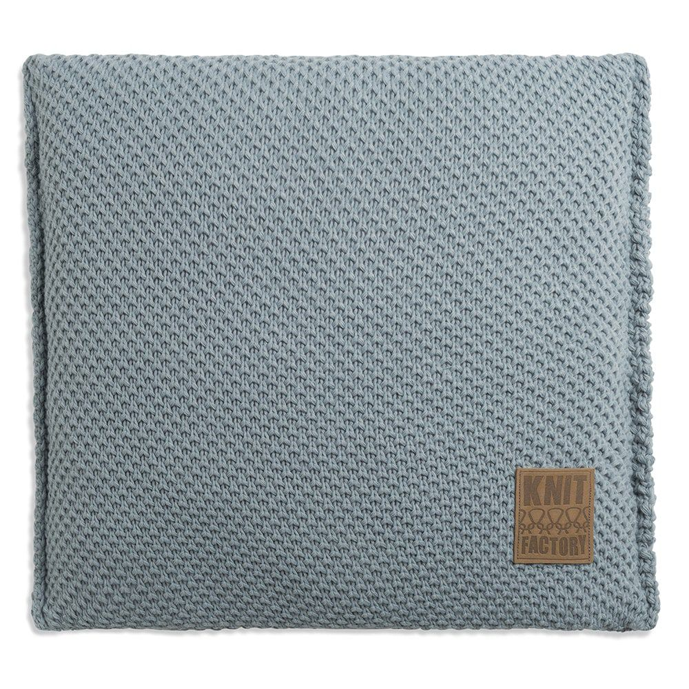knit factory 1181209 kussen 50x50 lynn stone green 1