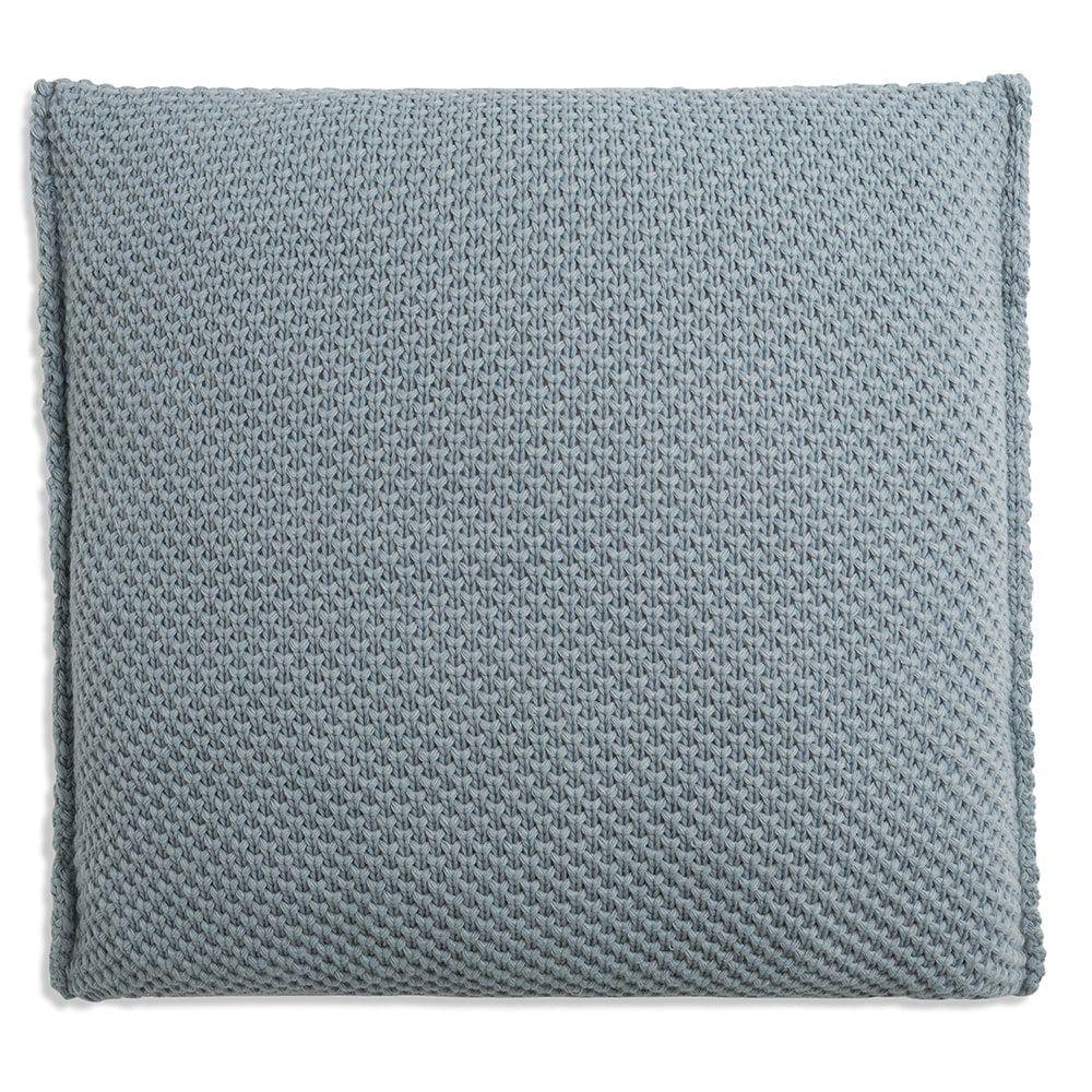 knit factory 1181209 kussen 50x50 lynn stone green 2