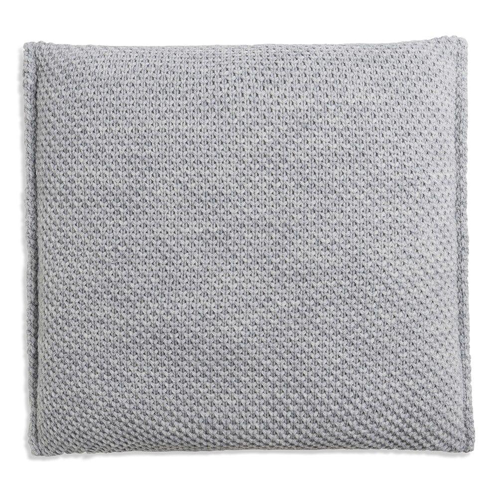 knit factory 1181211 kussen 50x50 lynn licht grijs 2