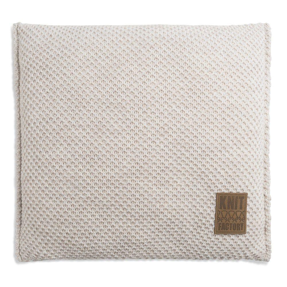 knit factory 1181212 kussen 50x50 lynn beige 1