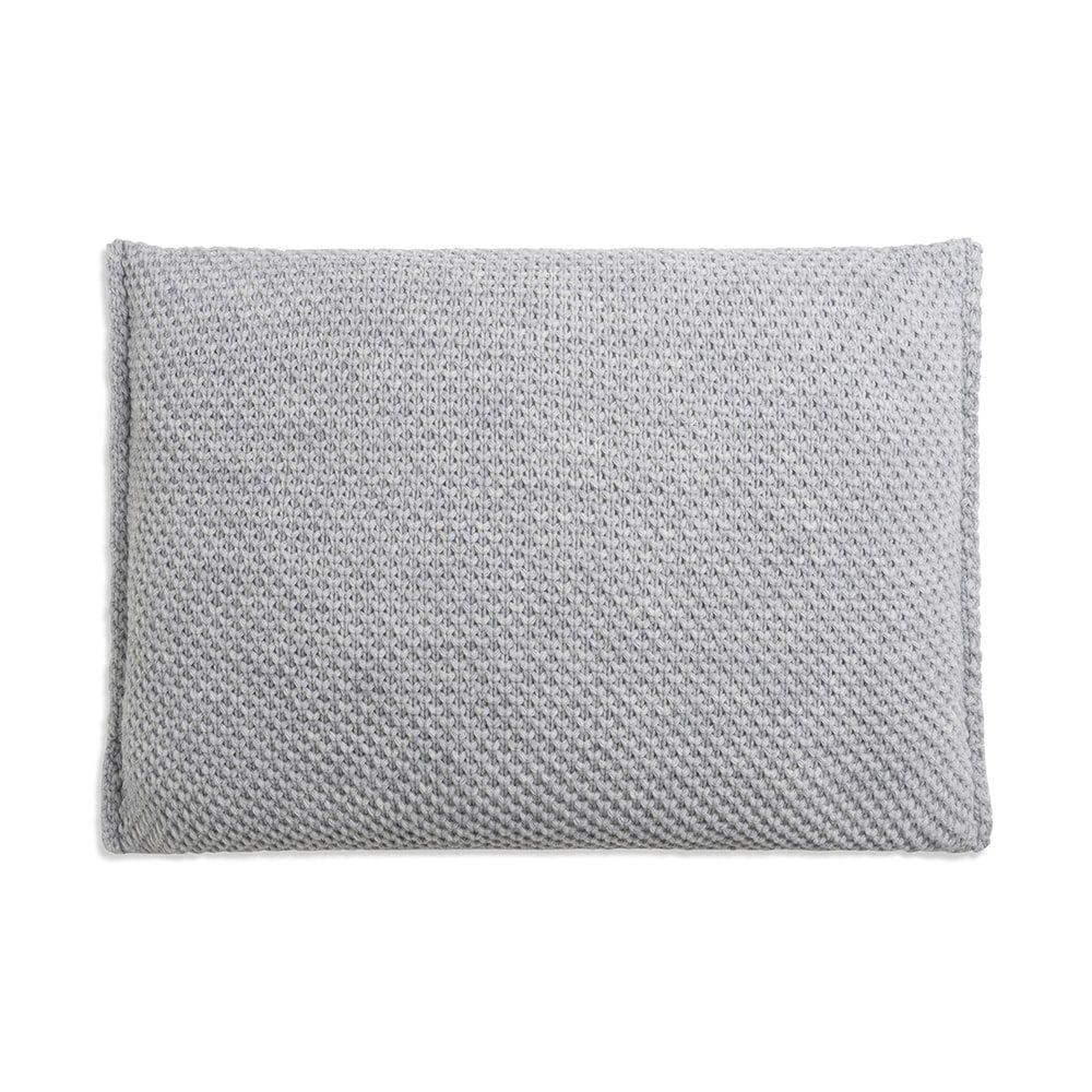 knit factory 1181311 kussen 60x40 lynn licht grijs 2