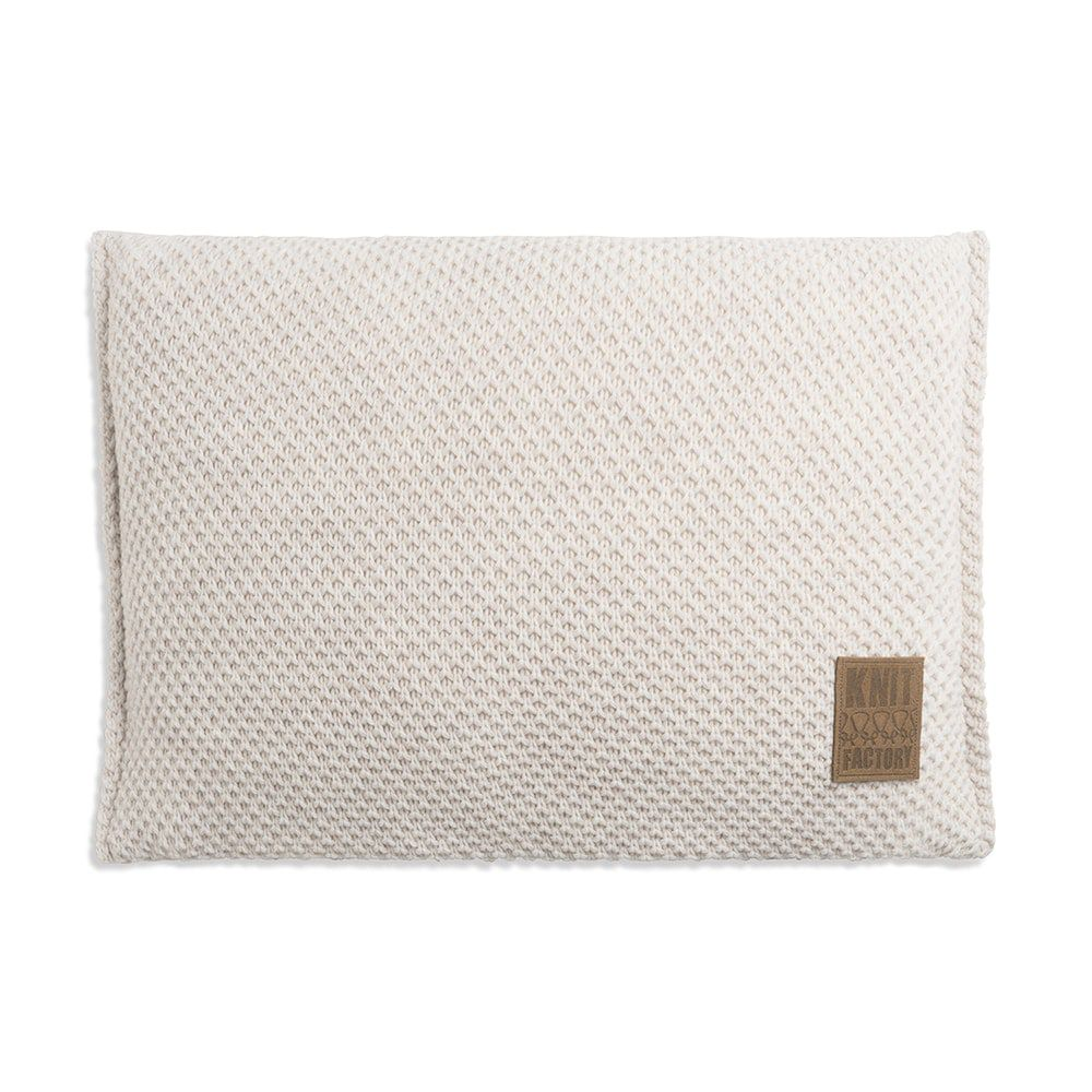 knit factory 1181312 kussen 60x40 lynn beige 1