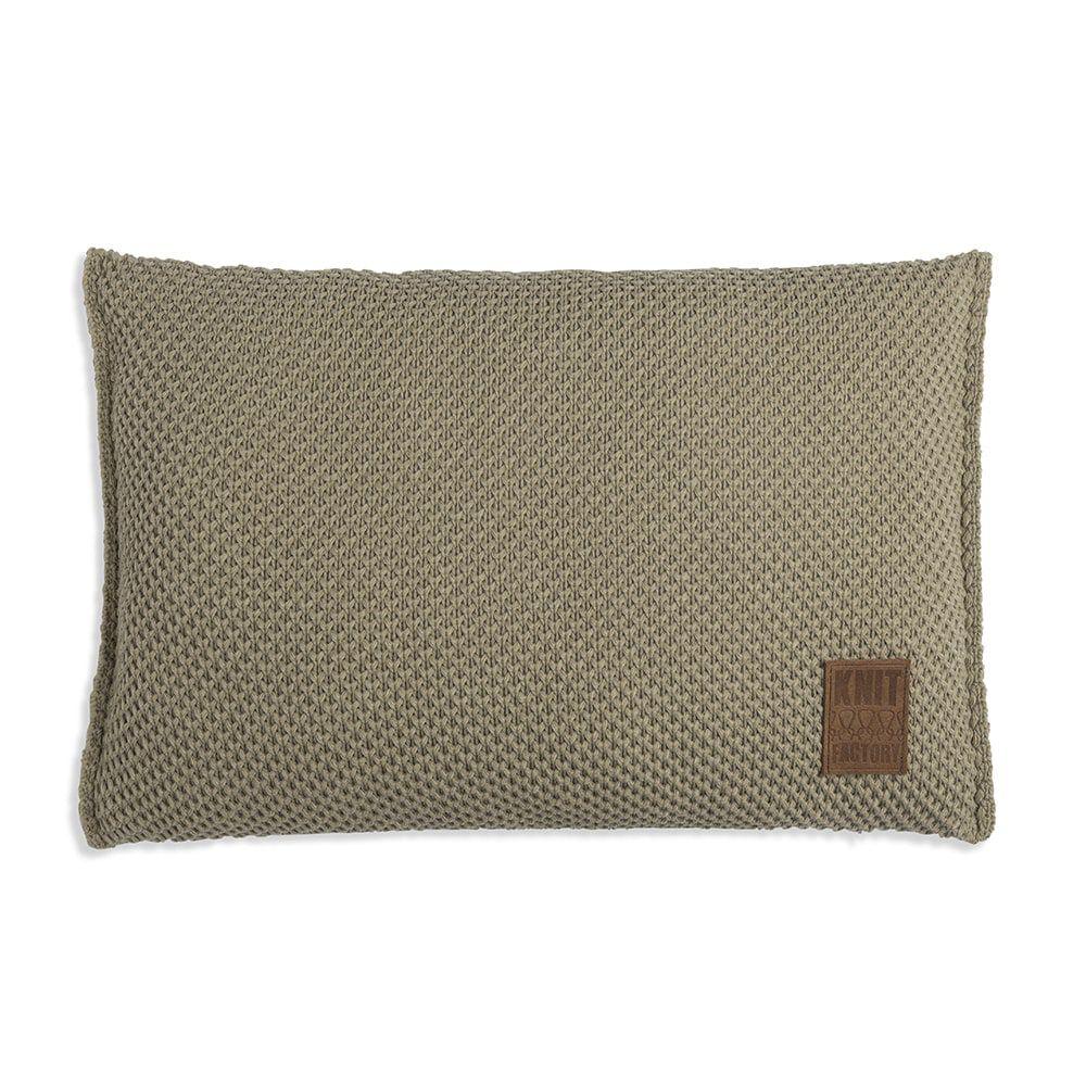 knit factory 1181333 kussen 60x40 lynn olive 1