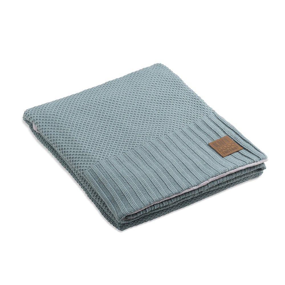knit factory 1182109 plaid teddy lynn stone green