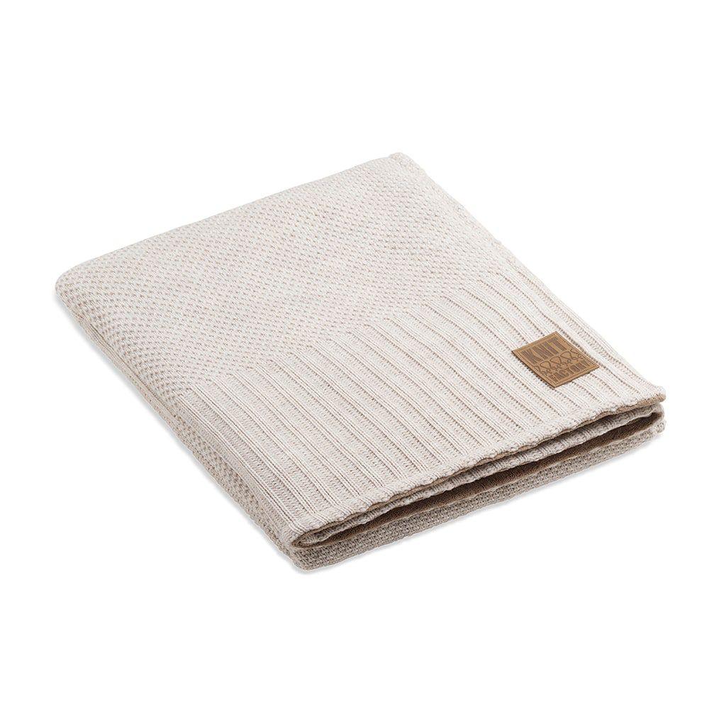 knit factory 1182112 plaid teddy lynn beige